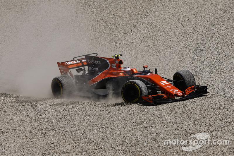 НФ. Стоффель Вандорн, McLaren