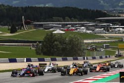 Карлос Сайнс-молодший, Scuderia Toro Rosso STR12, старт гонки