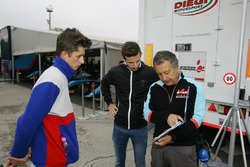Giacomo Bianchi Biasca con il coach Alex Fontana