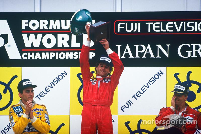 Gerhard Berger: 1 Grand Chelem