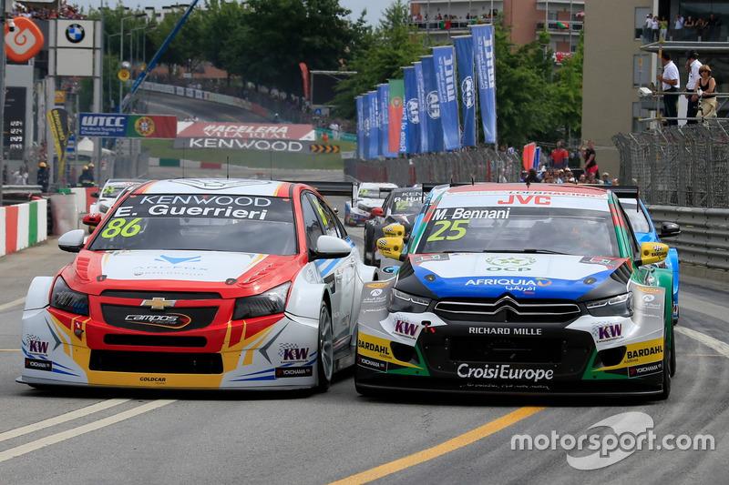 Esteban Guerrieri, Campos Racing, Chevrolet RML Cruze TC1, Mehdi Bennani, Sébastien Loeb Racing, Cit
