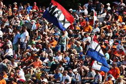 Fans van Max Verstappen, Red Bull Racing