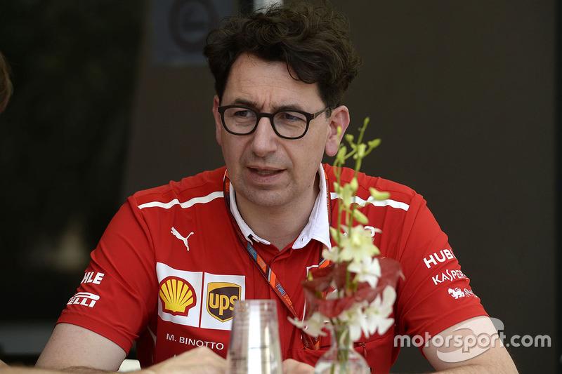 Mattia Binotto, Ferrari, Technikchef