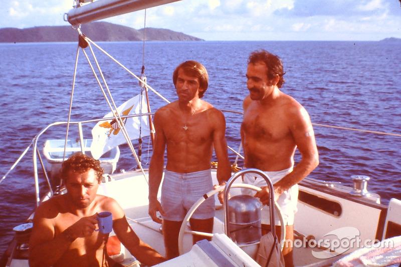 Clay Regazzoni, Jochen Mass, Jacques Laffite