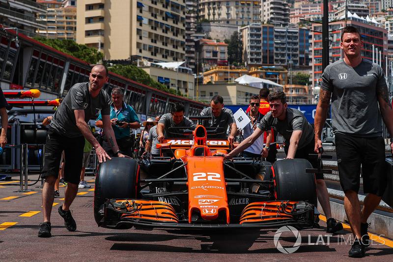 McLaren MCL32 Дженсона Баттона