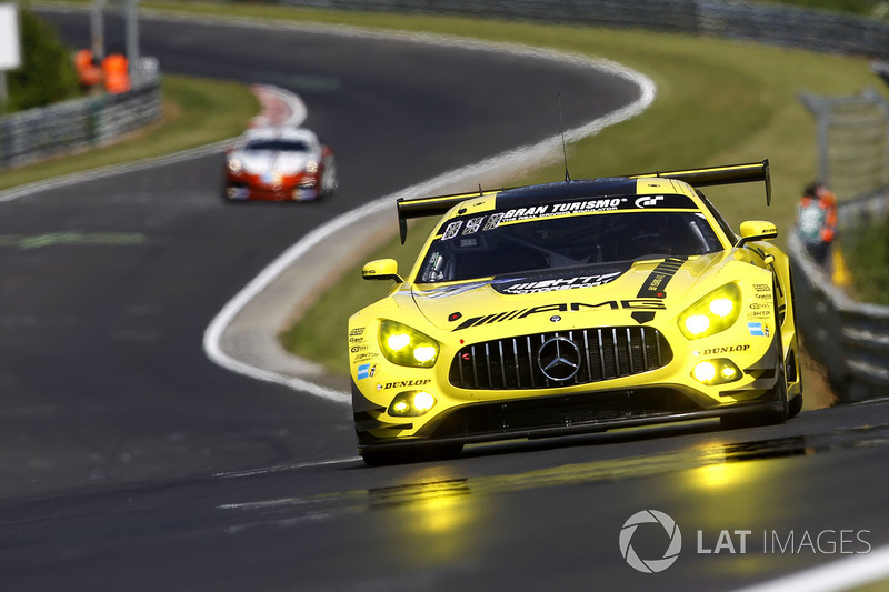 19. #47 Mercedes-AMG Team HTP Motorsport, Mercedes-AMG GT3