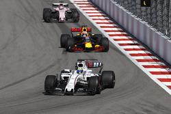 Фелипе Масса, Williams FW40, Даниэль Риккардо, Red Bull Racing RB13, Серхио Перес, Sahara Force India F1 VJM10