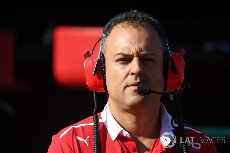 Diego Ioverno, Ferrari Operations Director