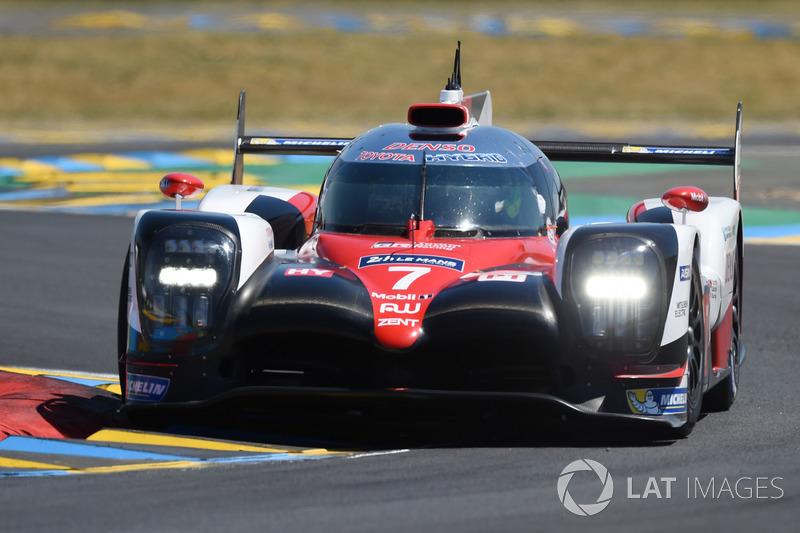 2. LMP1: #7 Toyota Gazoo Racing, Toyota TS050 Hybrid