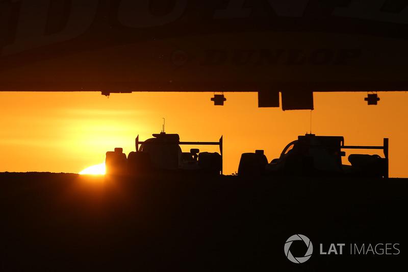 L'alba a Le Mans