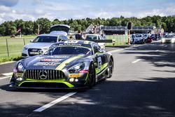 #85 HTP Motorsport, Mercedes-AMG GT3: Лучано Бакета, Інда Дотьє, Клеменс Шмід