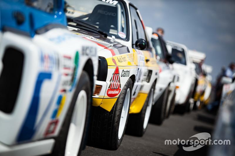 Historische Rallye-Autos