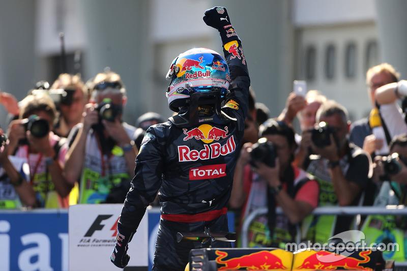 Sieger Daniel Ricciardo, Red Bull Racing