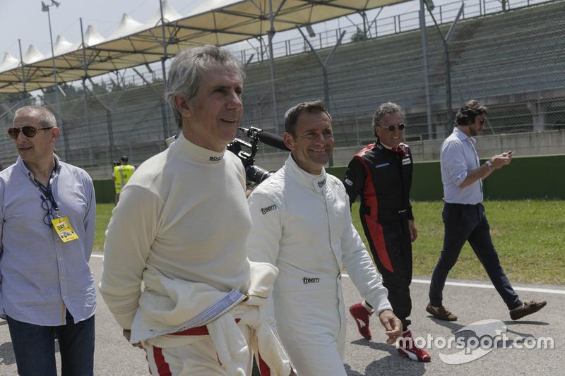 Paolo Barilla ve Gianni Morbidelli