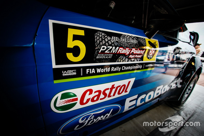 Detay, Mads Ostberg, Ola Floene, M-Sport Ford Fiesta WRC