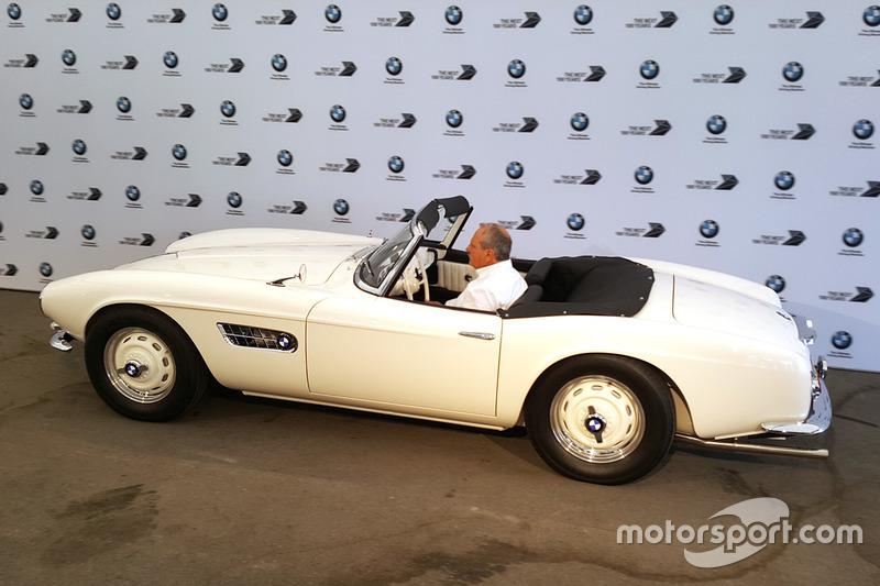 La BMW 507 di Elvis
