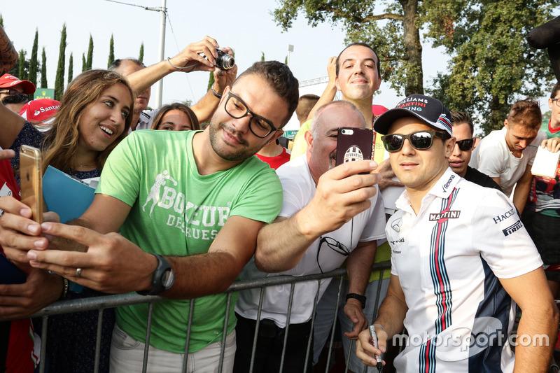 Felipe Massa, Williams con i tifosi