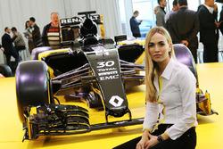 Carmen Jorda, Renault F1 Team development driver
