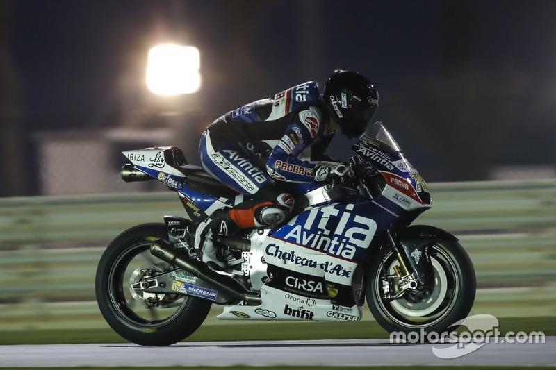 Loris Baz (Ducati), gestürzt