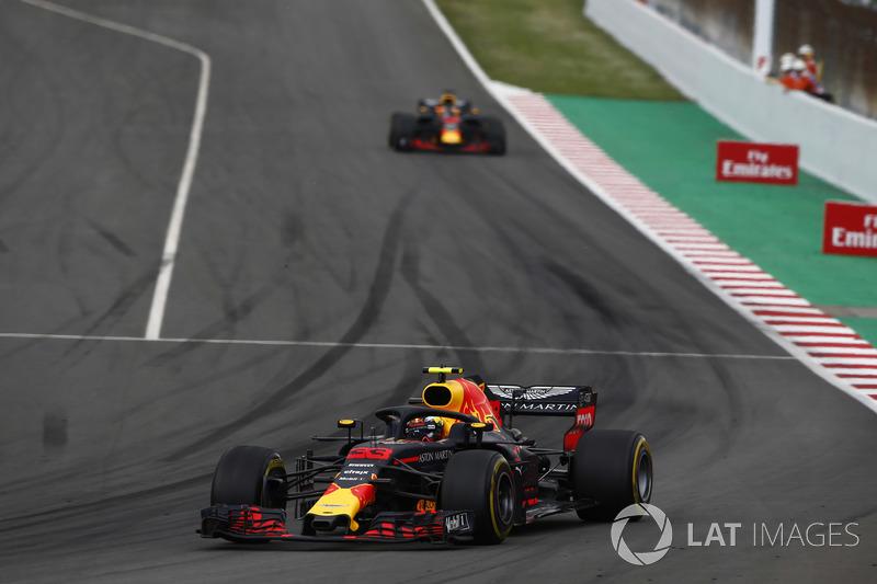 Макс Ферстаппен и Даниэль Риккардо, Red Bull Racing RB14