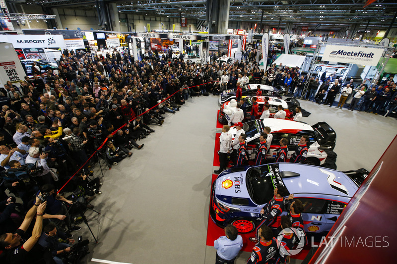 The 2018 Wrc Season Is Launched At The Autosport International Show