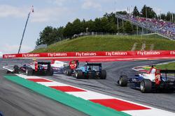 Giuliano Alesi, Trident, Ryan Tveter, Trident, David Beckmann, Jenzer Motorsport
