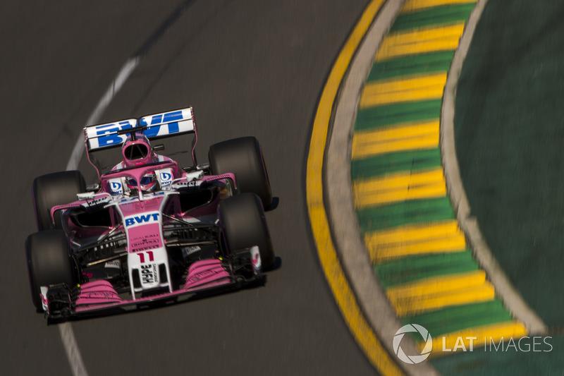 13. Sergio Perez, Force India VJM11