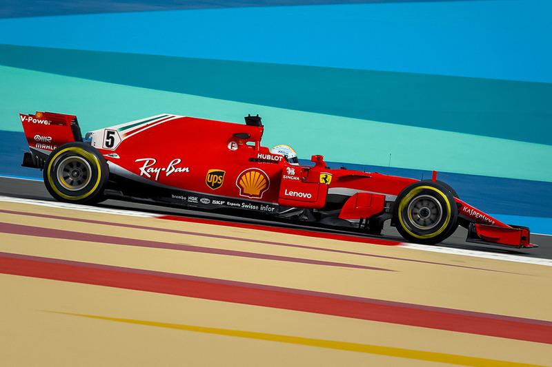 Ferrari SF71H tanpa Halo (rekayasa)