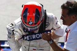 Марио Тайссен, Director, BMW Motorsport, победитель Роберт Кубица, BMW Sauber F1.08