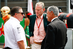 Zak Brown, McLaren Technology Group, Sean Bratches, Chase Carey