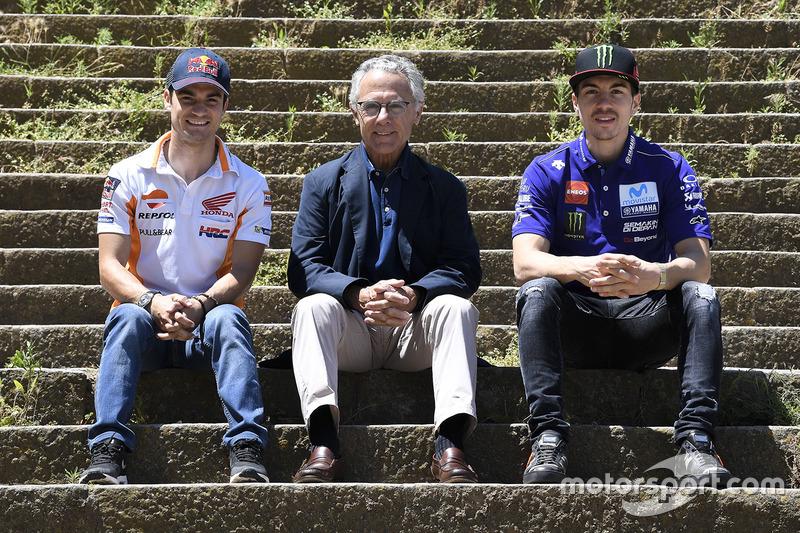 Salvador Cañellas, Dani Pedrosa, Repsol Honda Team, Maverick Viñales, Yamaha Factory Racing
