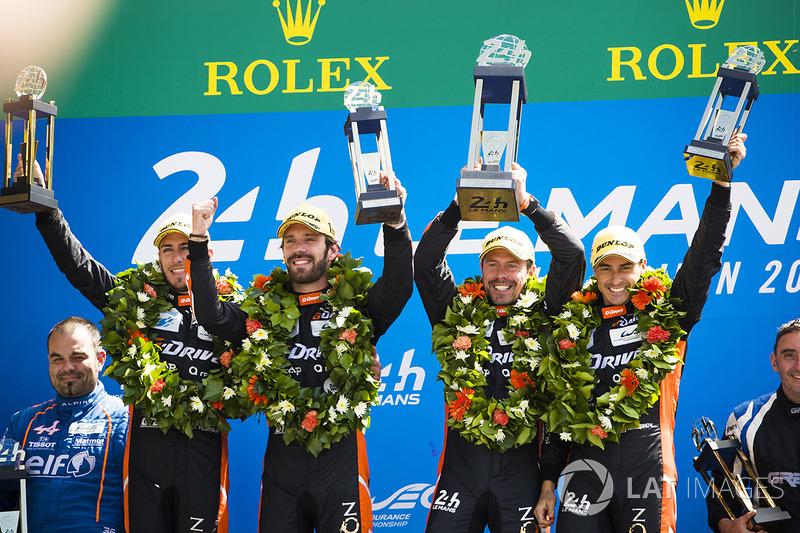 Дисквалификация G-Drive Racing в Ле-Мане