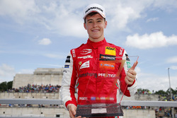Podium: Race winner Marcus Armstrong, PREMA Theodore Racing Dallara F317 - Mercedes-Benz