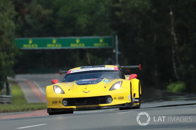 9. LMGTE-Pro: #63 Corvette Racing, Chevrolet Corvette C7.R