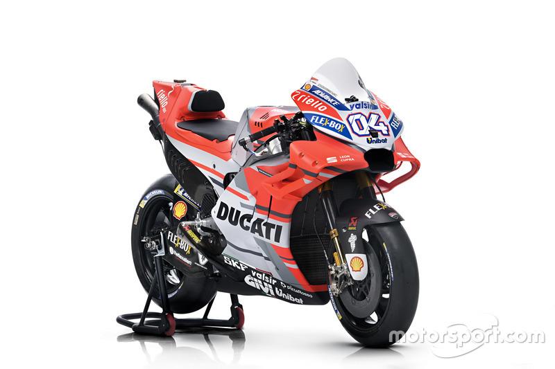 Мотоцикл Андреа Довіціозо, Ducati Team
