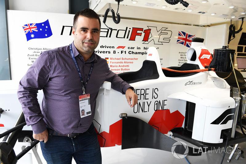 Zsolt Baumgartner, pilota della biposto F1 Experiences