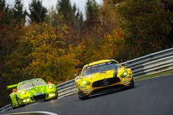 Hubert Haupt, Erik Johansson, Maro Engel, AMG - Team Black Falcon, Mercedes-AMG GT3
