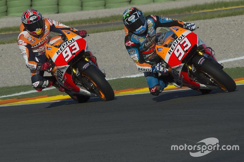 Alex Márquez Test Valencia MotoGP noviembre 2014