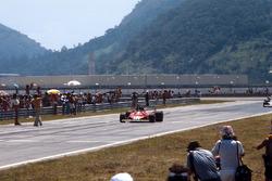 Sieg für Carlos Reutemann, Ferrari 312T2