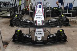 Williams FW40: Nasen und Frontflügel
