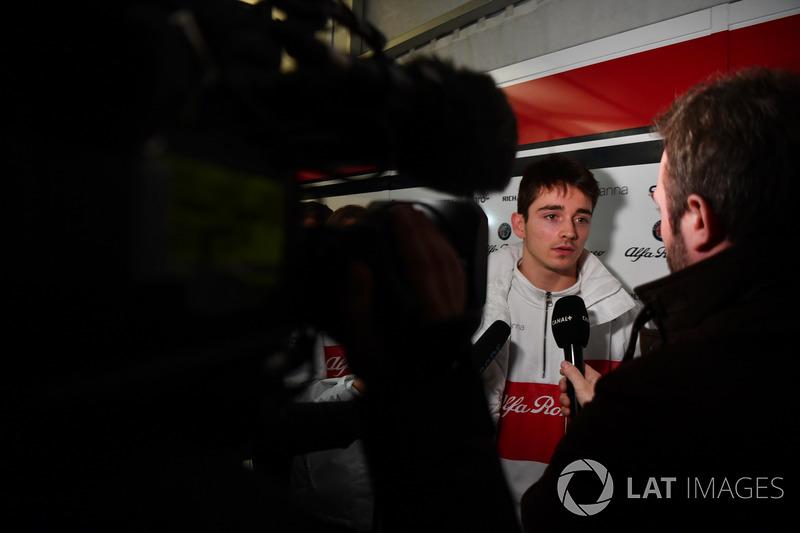 Charles Leclerc, Alfa Romeo Sauber F1 Team