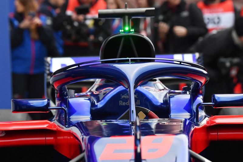 Система Halo на  Toro Rosso STR13