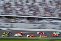 Joey Logano, Team Penske, Fitzgerald Glider Kits Ford Mustang leads the pack