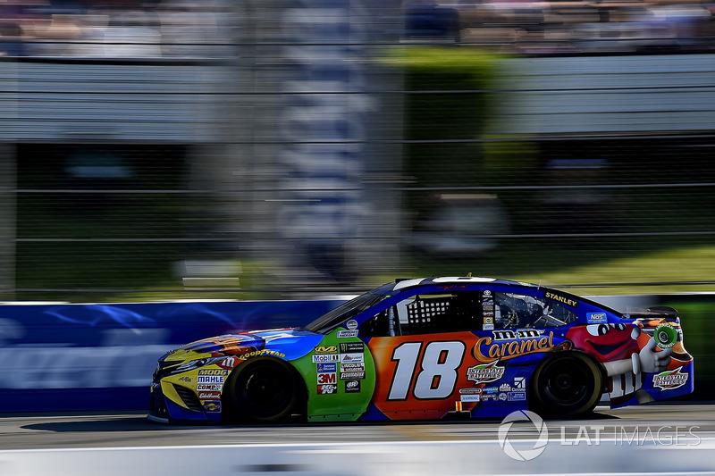 Kyle Busch, Joe Gibbs Racing Toyota ganador