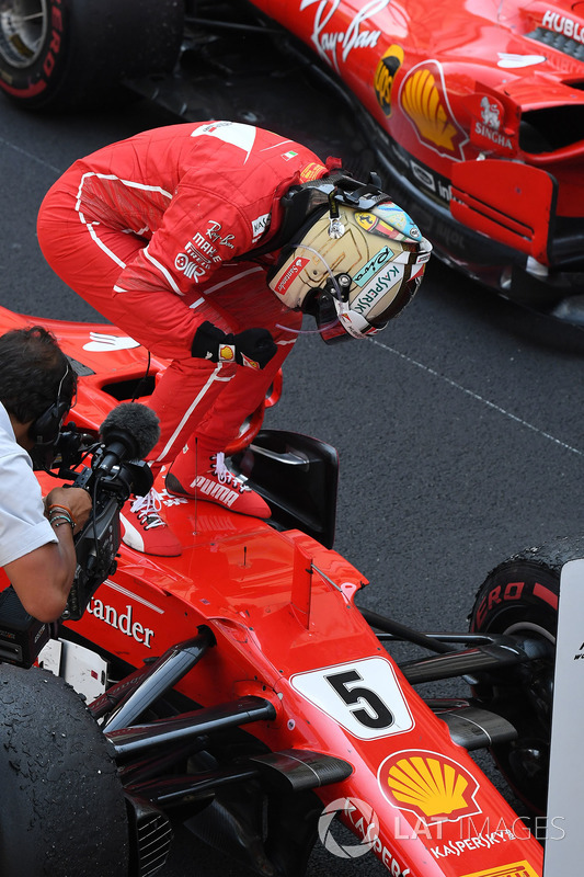 Переможець Себастьян Феттель, Ferrari SF70-H
