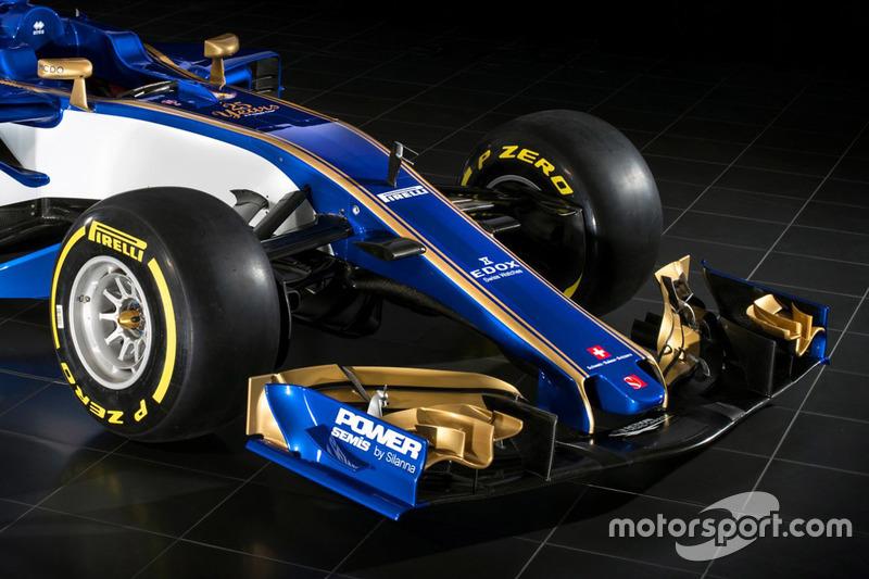 Переднее крыло Sauber C36