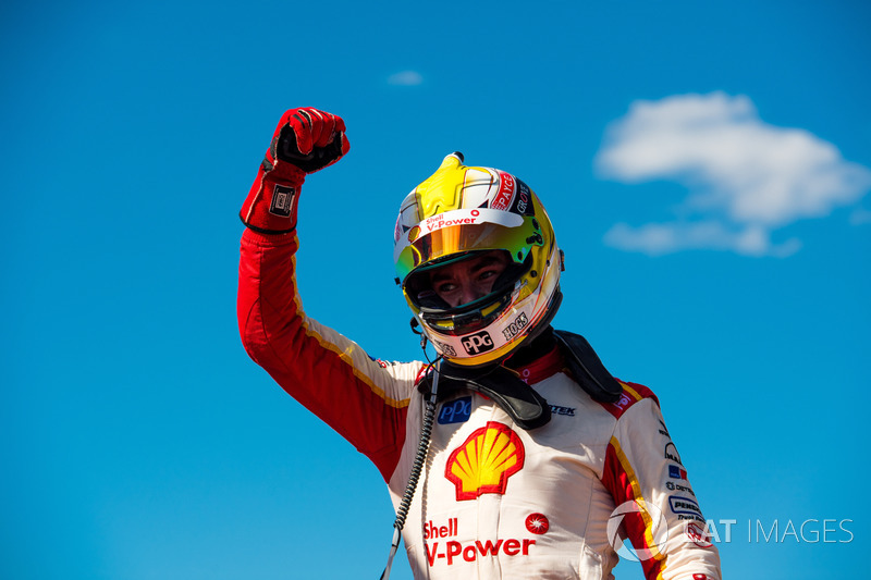 Race winner Scott McLaughlin, Team Penske Ford