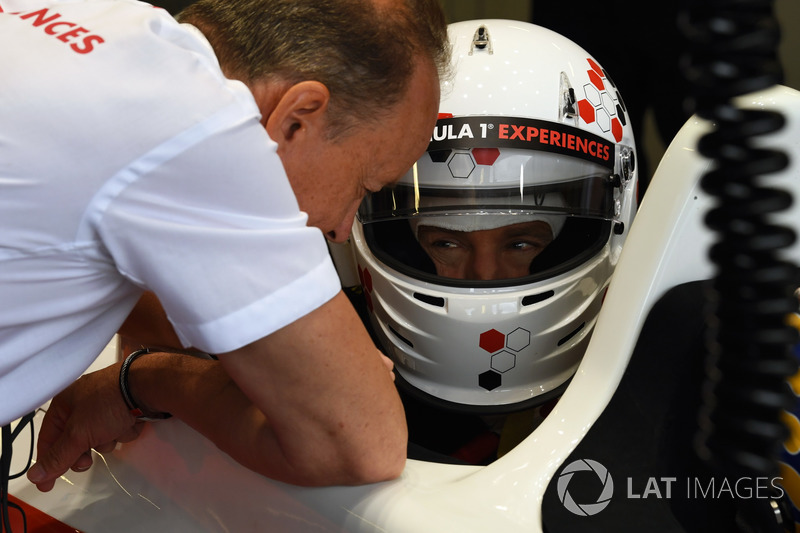 Paul Stoddart, F1 Experiences coche de 2 plazas con Owen Wilson