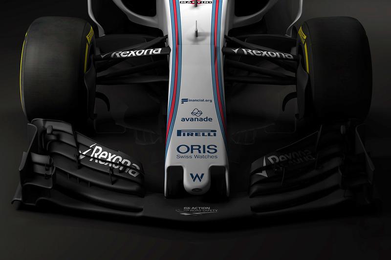 Williams FW40 voorvleugel