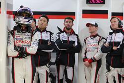 Sébastien Buemi, Kazuki Nakajima, Jose Maria Lopez, Anthony Davidson, Mike Conway, Toyota Racing